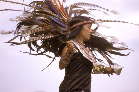 Aztec-dancer